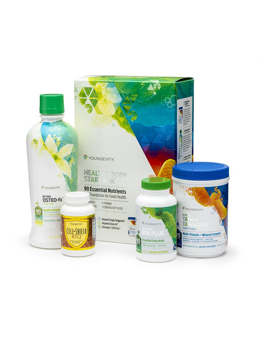anti aging healthy start pak